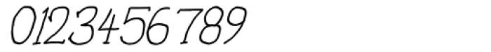 Personal Manifesto Medium Oblique Font OTHER CHARS