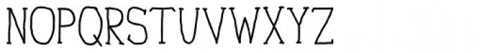 Personal Manifesto Medium Font UPPERCASE