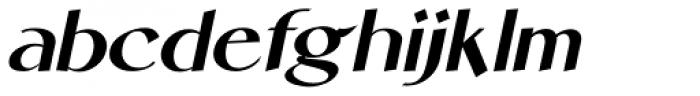 Personal Note Oblique JNL Font LOWERCASE