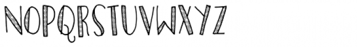 Personality Dot Font UPPERCASE