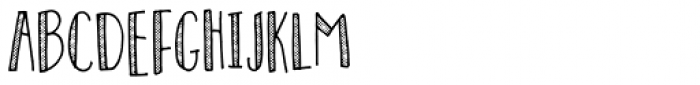 Personality Dot Font LOWERCASE
