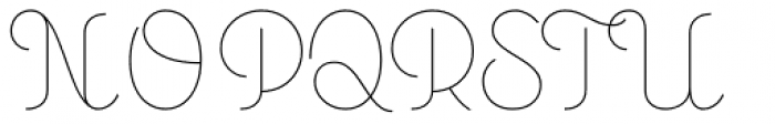 Personalitype Variable Font UPPERCASE