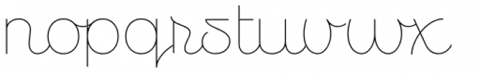 Personalitype Variable Font LOWERCASE
