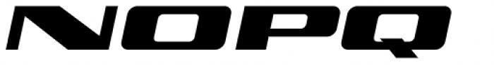 Personalization Oblique Font UPPERCASE