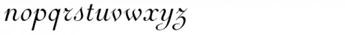 Perugia Cursive Font LOWERCASE