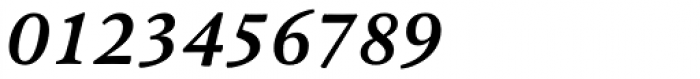Pesaro Bold Italic Font OTHER CHARS