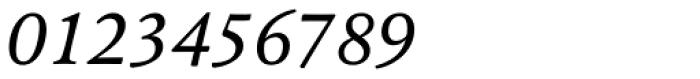 Pesaro Italic Font OTHER CHARS