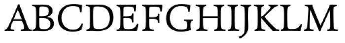 Pesaro Light Font UPPERCASE