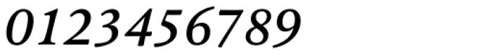 Pesaro Medium Italic Font OTHER CHARS