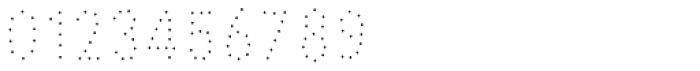 Pesto Fresco Small Dots Font OTHER CHARS