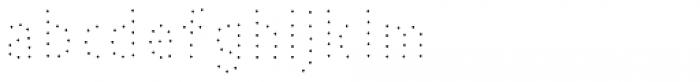 Pesto Fresco Small Dots Font LOWERCASE