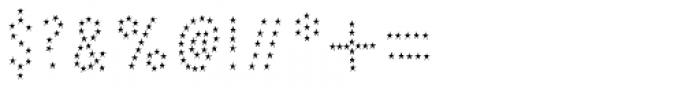 Pesto Fresco Stars 2 Font OTHER CHARS