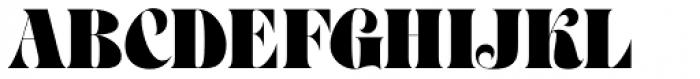 Petals BF Font UPPERCASE