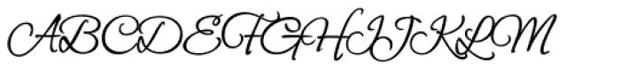 Petemoss ROB Font UPPERCASE