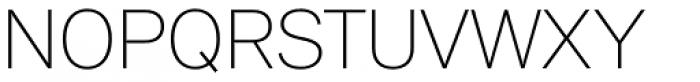 Peter Ultralight Font UPPERCASE