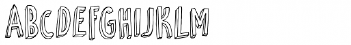 Petit Four Font UPPERCASE