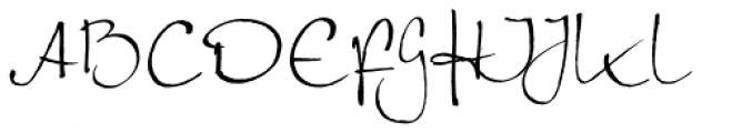 Petras Script EF Alternate Font UPPERCASE