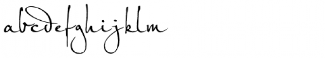 Petras Script EF Alternate Font LOWERCASE