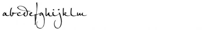 Petras Script EF Font LOWERCASE