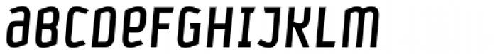 Petrol Medium Italic Font UPPERCASE