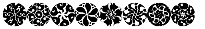 Petunias Font UPPERCASE