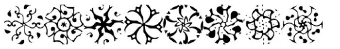 Petunias Font LOWERCASE