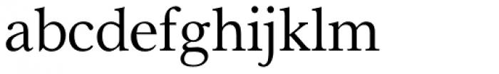 Pevensey 1 Regular Font LOWERCASE