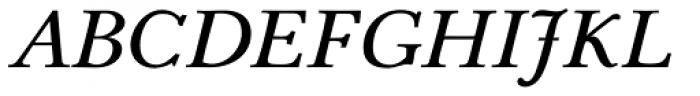 Pevensey 2 DemiBold Italic Font UPPERCASE