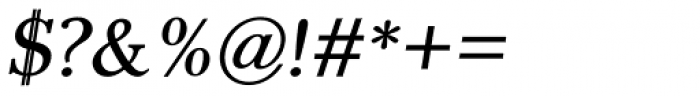 Pevensey 2 DemiBold Oblique Font OTHER CHARS