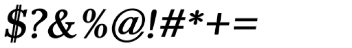 Pevensey 3 Bold Oblique Font OTHER CHARS