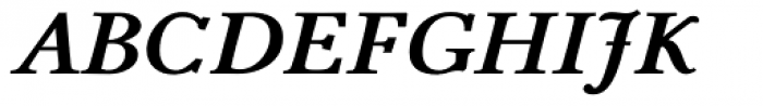 Pevensey 4 ExtraBold Italic Font UPPERCASE