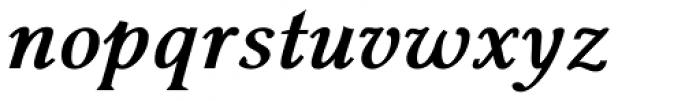 Pevensey 4 ExtraBold Italic Font LOWERCASE