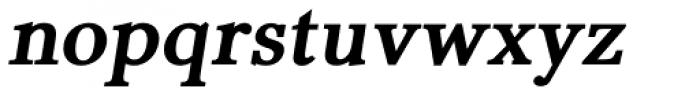Pevensey 5 Heavy Oblique Font LOWERCASE