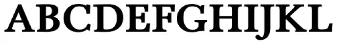 Pevensey 5 Heavy Font UPPERCASE