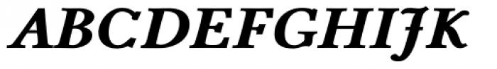 Pevensey 6 ExtraHeavy Italic Font UPPERCASE