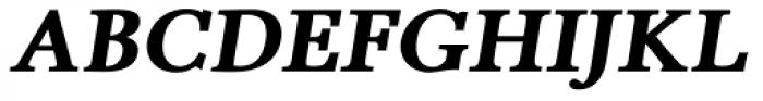 Pevensey 6 ExtraHeavy Oblique Font UPPERCASE
