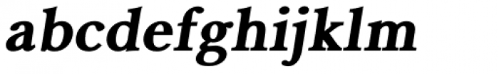 Pevensey 6 ExtraHeavy Oblique Font LOWERCASE