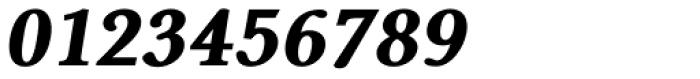 Pevensey 7 Black Oblique Font OTHER CHARS
