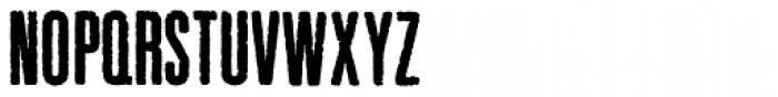 Pewter Black Font UPPERCASE