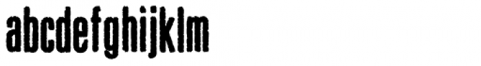 Pewter Black Font LOWERCASE