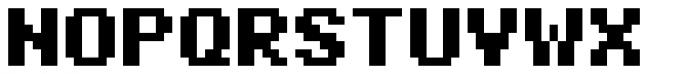 Pexico Micro Bold Font UPPERCASE