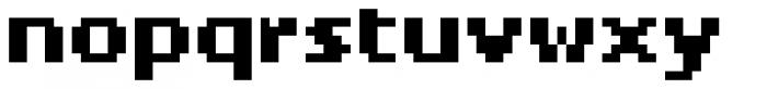 Pexico Micro Bold Font LOWERCASE