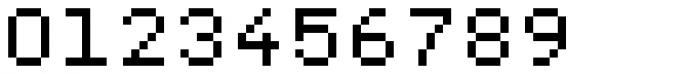 Pexico Micro Mono Font OTHER CHARS