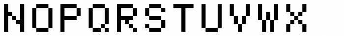 Pexico Micro Mono Font UPPERCASE