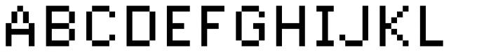 Pexico Micro Regular Font UPPERCASE