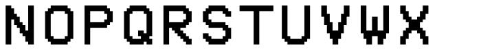 Pexico Mono Font UPPERCASE