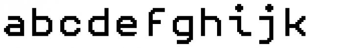 Pexico Mono Font LOWERCASE