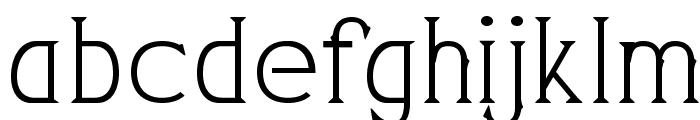 PearlyGates Font LOWERCASE