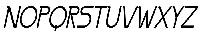 Persia Thin Italic Font UPPERCASE