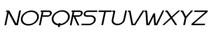 Persia Wide Italic Font UPPERCASE